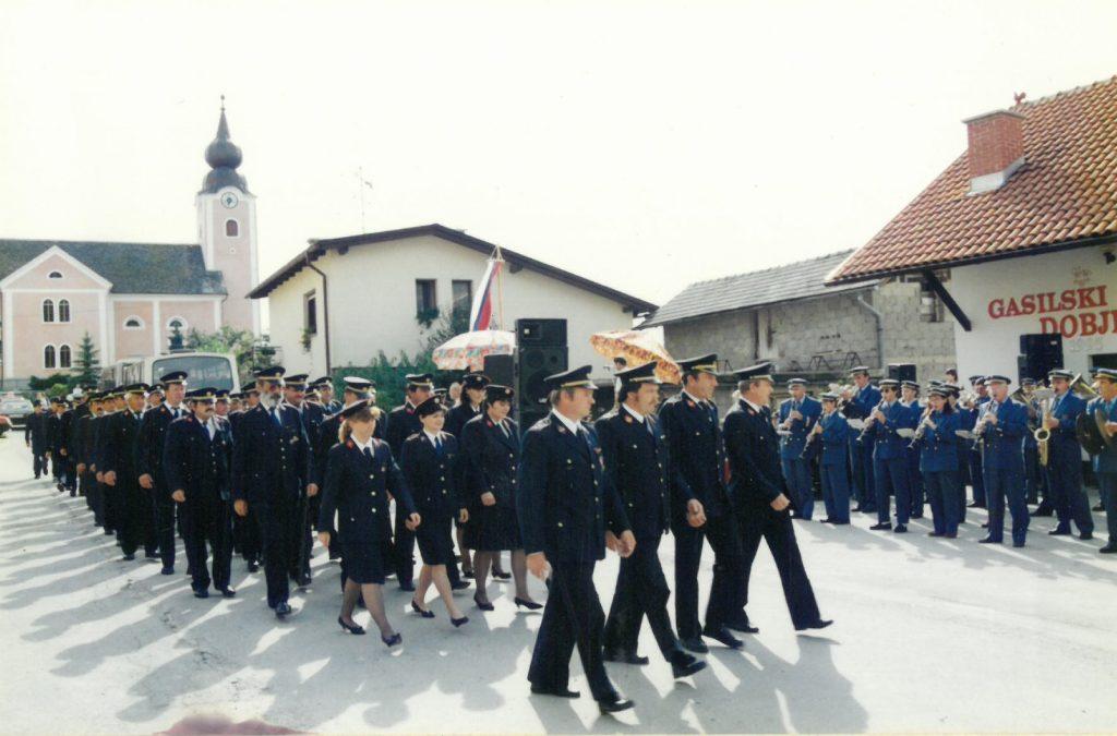 Gasilska parada ob otvoritvi