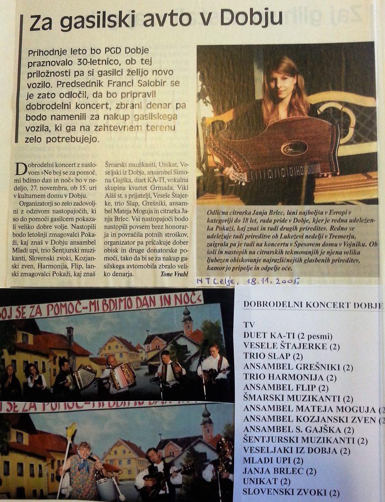 Novi tednik, 18. november 2005