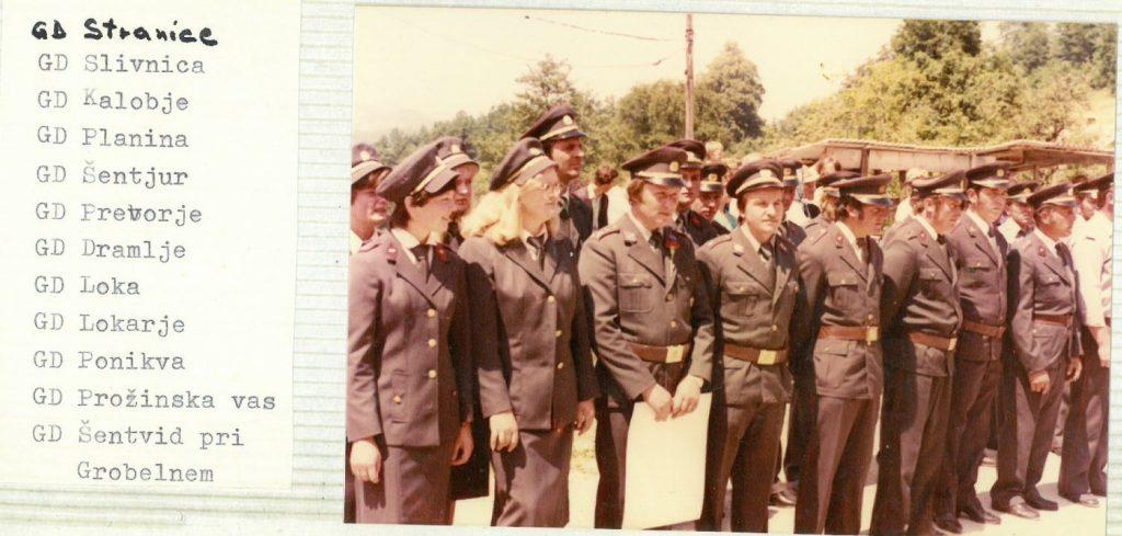 Parade so se udeležili tudi člani drugih gasilskih društev