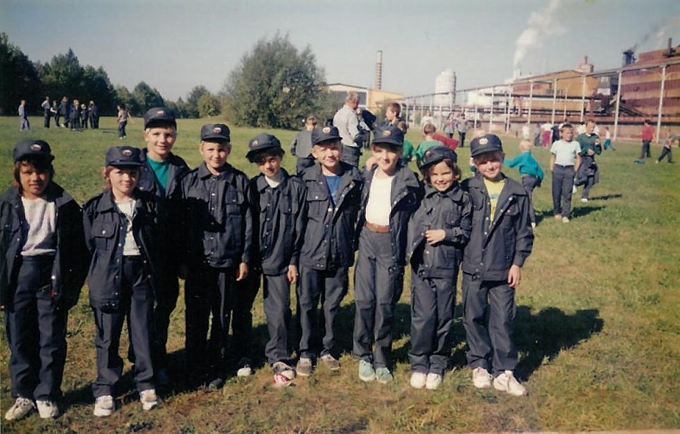 Pionirke na področnem tekmovanju v Celju, 27. september 1997